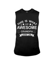 This is what an awesome GRANDPA looks like Sleeveless Tee tile