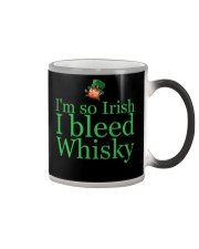I AM SO IRISH I BLEED WHISKY Color Changing Mug thumbnail