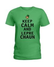 Keep Calm And Leprechaun Ladies T-Shirt thumbnail