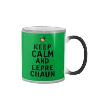 Keep Calm And Leprechaun Color Changing Mug thumbnail