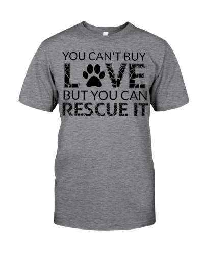 You Can Buy love But You Can rescue It