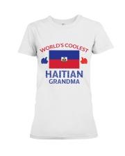 World coolest haitian grandma Premium Fit Ladies Tee thumbnail