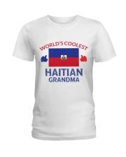 World coolest haitian grandma Ladies T-Shirt thumbnail