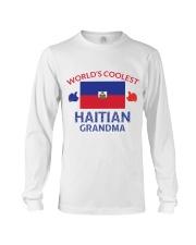 World coolest haitian grandma Long Sleeve Tee thumbnail