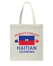 World coolest haitian grandma Tote Bag thumbnail