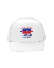 World coolest haitian grandma Trucker Hat thumbnail