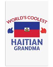 World coolest haitian grandma 24x36 Poster thumbnail