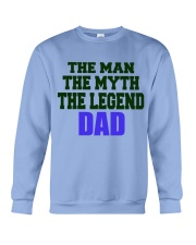 DAD: The Man The Myth The Legend Crewneck Sweatshirt thumbnail