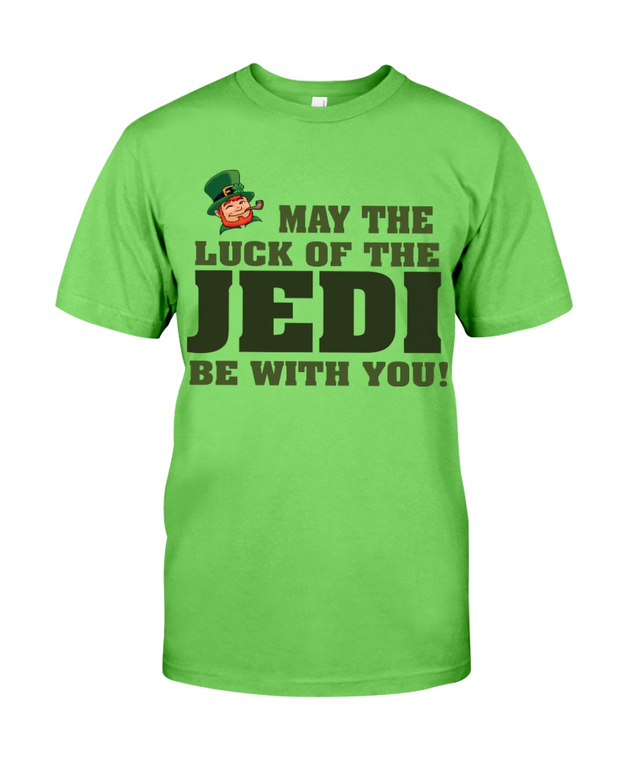 The Luck Of The JEDI Classic T-Shirt showcase