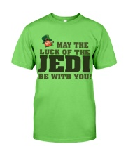 The Luck Of The JEDI Classic T-Shirt front