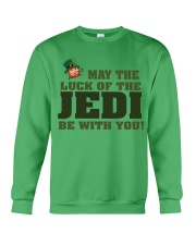 The Luck Of The JEDI Crewneck Sweatshirt tile