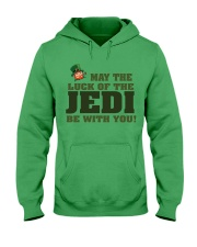 The Luck Of The JEDI Hooded Sweatshirt tile