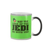 The Luck Of The JEDI Color Changing Mug tile