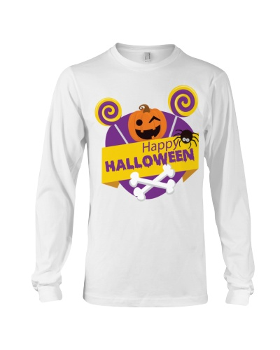 HAPPY HALLOWEEN KIDS T-SHIRT