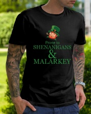 Prone To SHENANIGANS Classic T-Shirt lifestyle-mens-crewneck-front-7