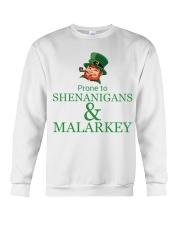 Prone To SHENANIGANS Crewneck Sweatshirt tile