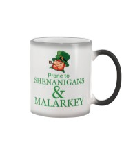 Prone To SHENANIGANS Color Changing Mug tile
