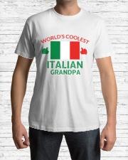 World coolest Italian Granpa Classic T-Shirt lifestyle-mens-crewneck-front-1