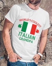 World coolest Italian Granpa Classic T-Shirt lifestyle-mens-crewneck-front-4