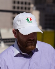 World coolest Italian Granpa Classic Hat lifestyle-flex-hat-front-2