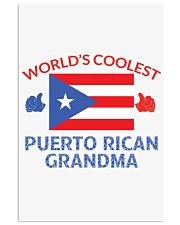 World coolest Puerto rican grandma 24x36 Poster thumbnail