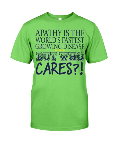 Apathy Is The World 's Fastest Growing Disease