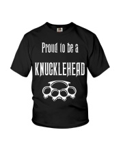Proud to be a Knucklehead Youth T-Shirt thumbnail
