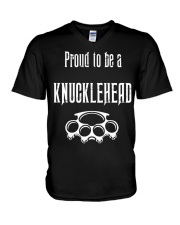 Proud to be a Knucklehead V-Neck T-Shirt thumbnail