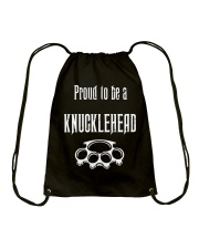 Proud to be a Knucklehead Drawstring Bag thumbnail