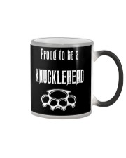 Proud to be a Knucklehead Color Changing Mug thumbnail