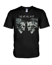 This Means War V-Neck T-Shirt thumbnail