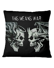 This Means War Square Pillowcase tile
