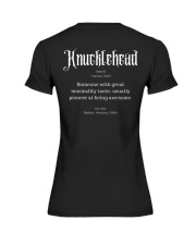 Knucklehead Definition Premium Fit Ladies Tee thumbnail