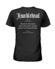 Knucklehead Definition Ladies T-Shirt thumbnail