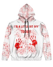 You can all fck off today Men's All Over Print Hoodie thumbnail