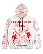 You can all fck off today Women's All Over Print Hoodie thumbnail