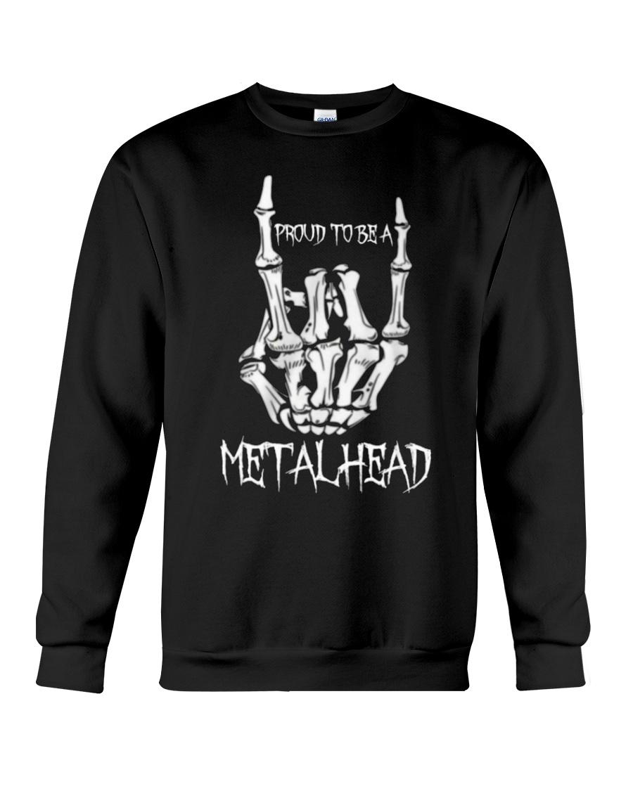 Proud to be a Metalhead Crewneck Sweatshirt