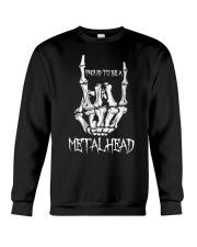 Proud to be a Metalhead Crewneck Sweatshirt thumbnail
