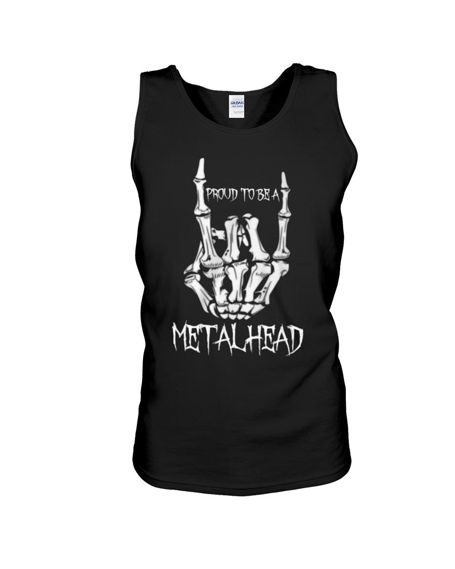 Proud to be a Metalhead Unisex Tank