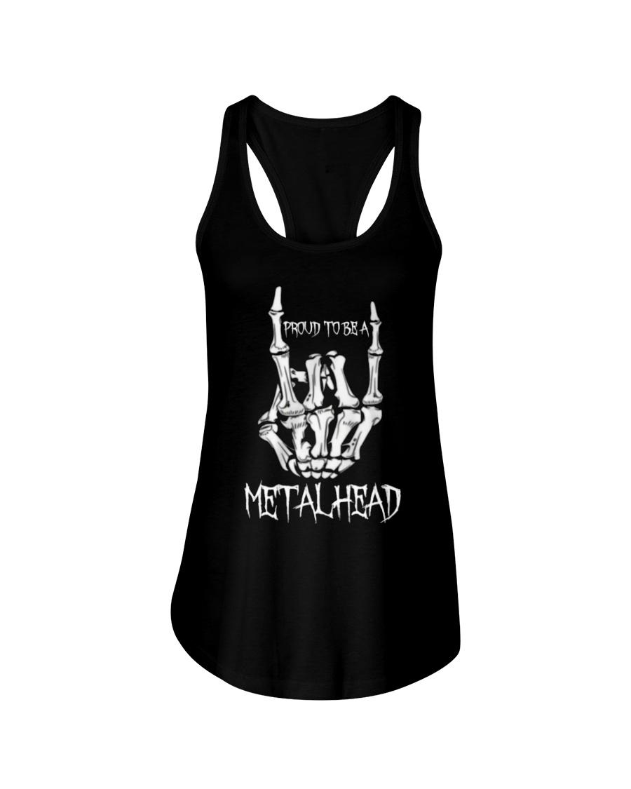 Proud to be a Metalhead Ladies Flowy Tank