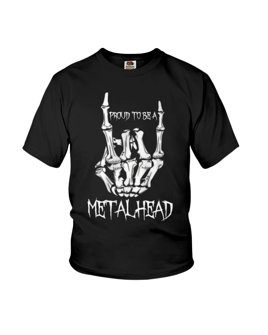 Proud to be a Metalhead Youth T-Shirt