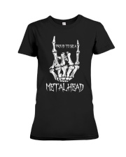 Proud to be a Metalhead Premium Fit Ladies Tee thumbnail