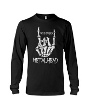 Proud to be a Metalhead Long Sleeve Tee thumbnail