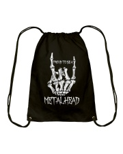 Proud to be a Metalhead Drawstring Bag thumbnail