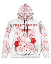 I'm a little bit off today Men's All Over Print Hoodie tile