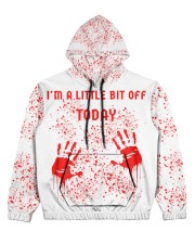 I'm a little bit off today Women's All Over Print Hoodie tile