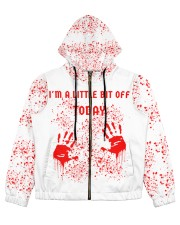 I'm a little bit off today Women's All Over Print Full Zip Hoodie thumbnail