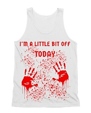 I'm a little bit off today All-Over Unisex Tank tile