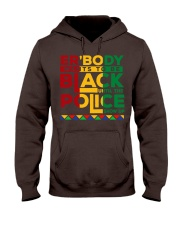 Justice for george floyd Everybody want to be blac Hooded Sweatshirt thumbnail