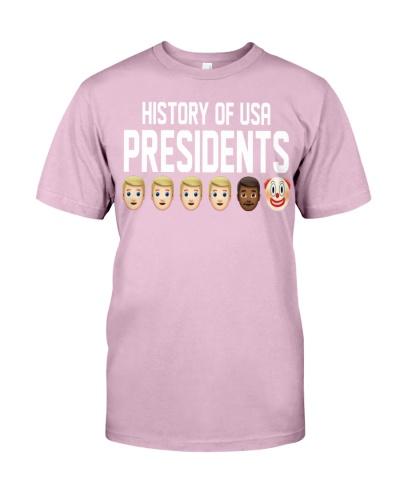 HISTORY OF USA PRESIDENTS